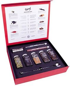 Gin and Tonic Premium Gift Set of Cocktail Botanicals and Spices 200 Grams