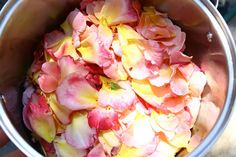 homemade rose water - a little luxury.