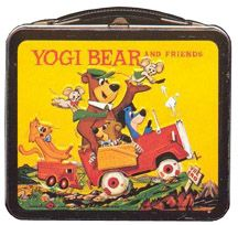 Vintage Yogi Bear and France Lunchbox Retro Lunch Boxes, Lunch Box Thermos, Cool Lunch Boxes, Metal Lunch Box, Vintage Comic Books, Vintage Cartoon, Retro Toys, Vintage Toys, Childhood Toys