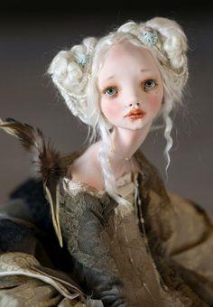 "Art doll by ""Hummingbird"" by Alisa Filippova"