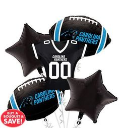 Carolina Panthers party supplies feature officially licensed plates, napkins, decorations, and more. Carolina Panthers Nails, Carolina Panthers Football, Football Birthday, Football Parties, 10th Birthday, Birthday Ideas, Batgirl Party, Penrith Panthers, Panther Nation