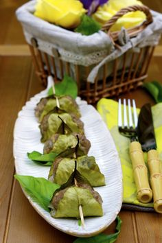 Apron and Sneakers - Cooking & Traveling in Italy: Lemon Leaf-Wrapped Meatballs
