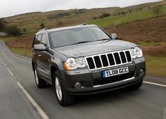 2008 Jeep Grand Cherokee Overland UK Version