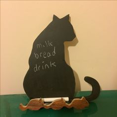Cat and Mouse chalkboard