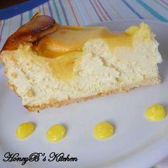The Life & Loves of Grumpy's Honeybunch: Lemon Swirled Cheesecake