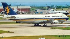British Caledonian Airways Boeing 747-2D3BM