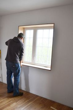 Owner Building a Home: The Momplex | Laziest Window Header Trim