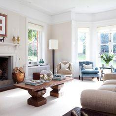 Clean lines living room