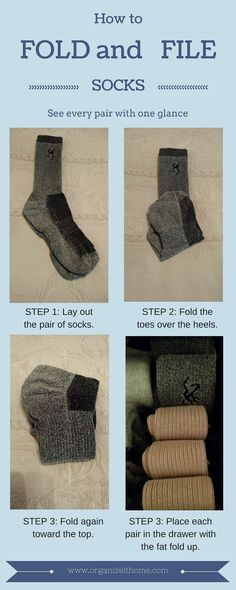 How to fold and file socks the best way to store socks so that you