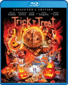 Scream Factory announces the special features for Michael Dougherty's Halloween horror anthology classic, Trick 'r Treat collector's edition Blu-ray. Halloween And More, Halloween Movies, Halloween Horror, Scary Movies, Halloween Night, Halloween Hats, Halloween Poster, Trick R Treat 2007, Trick R Treat Movie