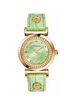 A brand-new collection for #women joins the #Versace line of #watches: Vanity.