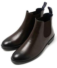 MACKINTOSH PHILOSOPHY Men's(マッキントッシュ フィロソフィー メンズ)の【CARDIFF】NEWサイドゴアレインブーツ(ブーツ)|ブラウン