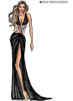 Summer Fever Look 5: Rita Ora by @atelierconsoloillustration| Be Inspirational ❥|Mz. Manerz: Being well dressed is a beautiful form of confidence, happiness & politeness