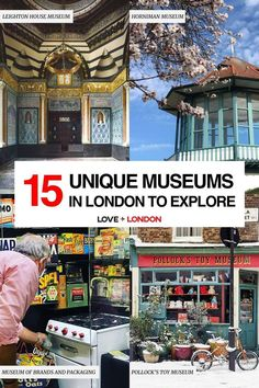 The coolest and most interesting museums to visit in London. Great for London tourists who want to go off the beaten path! Leighton House Museum, Cartoon Museum, North Garden, London Tips, Textile Museum, British Garden, Free Museums, London Museums, His Travel