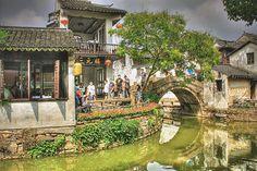 Zhouzhuang, China.