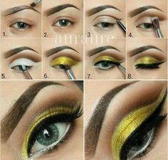 Tetszik a #citromsárga smink? / Do you like the #lemonyellow #makeup?