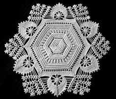 Doily  Irish Crochet   Wedding Centerpiece  by ArtisticNeedleWork