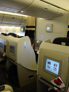 Air France Business class B 777