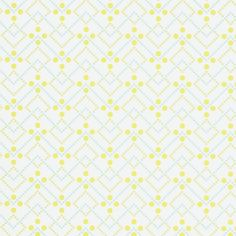 Tapeta Coordonne Room Seven: Field of Flowers 3900005 Diagonal Dot Lime