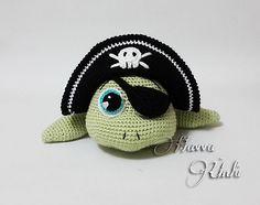 Ravelry: Pirate Sea Turtle pattern by Havva Ünlü