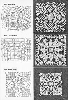 How to Crochet a Solid Granny Square - Crochet Ideas Free crochet square patter. How to Crochet a Solid Granny Square – Crochet Ideas Free crochet square pattern graph design gr Free Crochet Square, Granny Square Crochet Pattern, Crochet Diagram, Crochet Squares, Crochet Chart, Crochet Ideas, Filet Crochet, Thread Crochet, Crochet Tablecloth