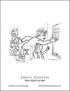 Learn About Albert Einstein With These Free Printables Albert
