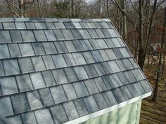 These are metal shingles ... awesome!