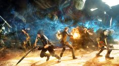 We're almost ready to learn some new stuff about one of the Final Fantasy XV boys. Square Enix has revealed at PlayStation's Paris Games Week event that Final Fantasy XV: Episode Ignis will release on December Accompanying th. Fantasy Series, Fantasy Art, Final Fantasy Xv Wallpapers, Playstation, Aldnoah Zero, Indie, Noctis, New Trailers, Tabata