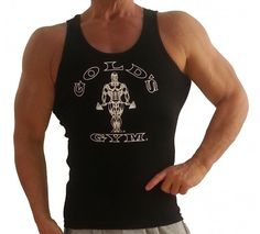 230aabf504101 G391 Golds gym muscle tank top to icon Gym vest