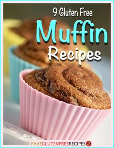 These are 9 of the best gluten free muffin recipes ever. They're perfect for breakfast, snacking, and dessert!