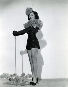Vivian Blaine/ I love her. She was a great actress:)