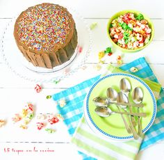 Mi toque en la cocina: One bowl chocolate cake (Tarta de chocolate)