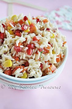 My Kitchen Treasures: Spanish Rice Salade