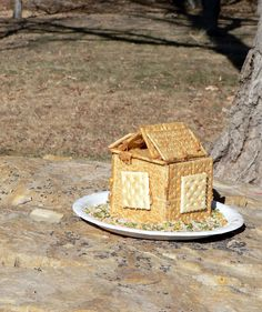 Make a bird house bird feeder! We love watching the birds and this is going to be great!