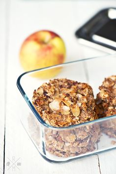 Breakfast Cookies with Apples and Nuts #glutenfree #sugarfree #vegan | relleomein.de