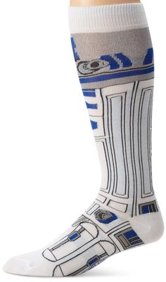 Star Wars R2-D2 (R2D2) Juniors Socks, Shoe Size 4-10