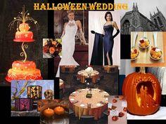 halloween wedding decorations | Halloween-themed Wedding Centerpieces