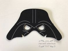Check out this item in my Etsy shop https://www.etsy.com/listing/527470931/darth-vader-party-mask-star-wars-party
