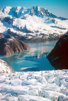 Kenai Fjords National Park, Alaska >>> beautiful!