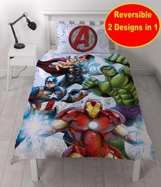 Marvel Avengers STRIKE (Not Comics Strike) Single Panel Duvet STAMP