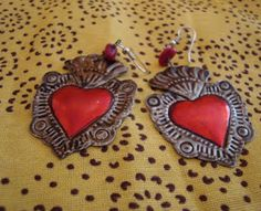 Tin Can Crafts, Easy Crafts, Vintage Silver, Vintage Jewelry, Sacred Heart, I Love Jewelry, Metal Working, Heart Ring, My Style
