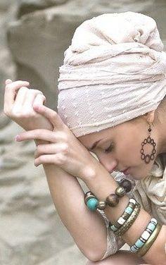 tichel/turban/head-wrap