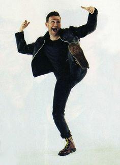 damon albarn jumping for joy