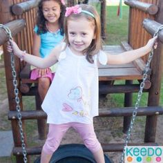 Keedo, a trusted and proudly South African brand, blends imagination, comfort and style to create functional and fashionable designer clothes for kids worldwide. Summer Set, Summer 2015, Two Girls, Spring Collection, Baby Kids, Kids Outfits, Two By Two, African, Pretty