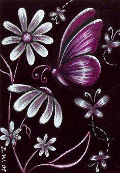 Butterflies & Flowers #10