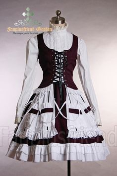 Gothic Lolita Gypsy Maiden Outfit*3pcs $114.99 ... I dont think this is very gypsy like though