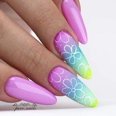 Candy Gomex: ⭐⭐⭐⭐⭐ With cute, stylish, and over-the-top fall nail designs Stiletto Nail Art, Gel Nail Art, Nail Art Hacks, Acrylic Nail Designs, Nail Art Designs, Acrylic Nails, Nails Design, Cute Nails, Pretty Nails