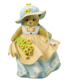 Take a look at this Cherished Teddies Garden Stroll Figurine today!