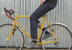The Drifter Jean | Cycling Jeans | Kitsbow | Mountain Bike Apparel | Kitsbow
