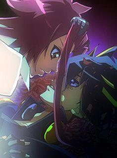 Yu Gi Oh 5d's, Yo Gi Oh, Yu Gi Oh Anime, Anime Love, Black Rose Dragon, Yugioh Collection, Romantic Anime Couples, Couple Sketch, Cool Artwork